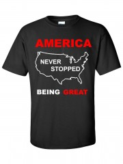 America Never Stopped Being Great T-Shirt